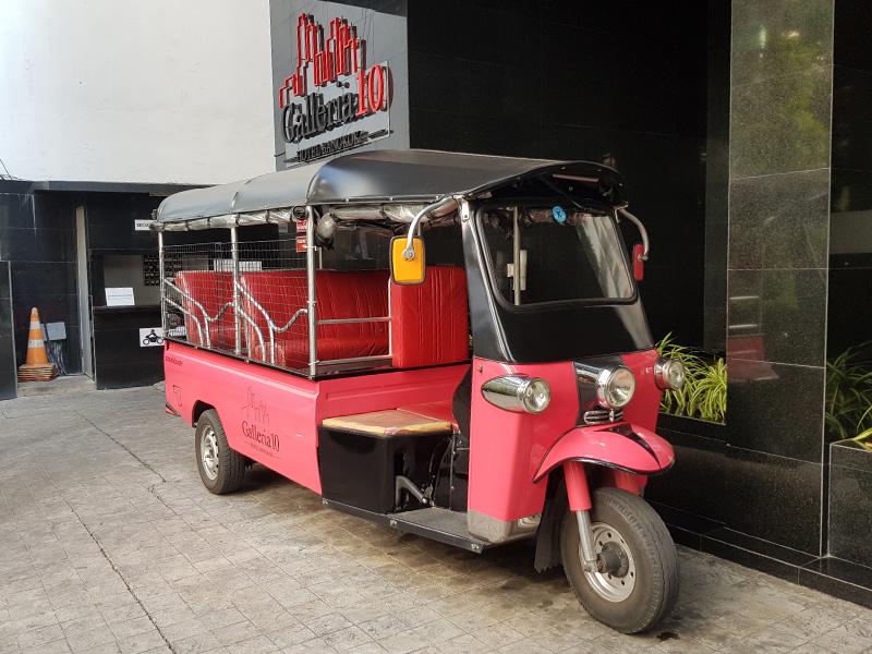免费TukTuk服务@Galleria 10 Sukhumvit by Compass Hospitality
